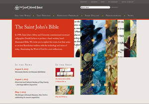 The Saint John's Bible screenshot